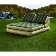 Ozark Trail 14967 Adjustable Dual Headrest Airbed Queen Size w/ Built-in Electric Pump, Queen. Ozark Trail, The airbed is fully customizable and adjustable to support the needs of any sleeper. Camping Glamping, Camping Life, Outdoor Camping, Camping Hacks, Camping Stuff, Tent Camping Beds, Camping Outdoors, Travel Stuff, Outdoor Seating