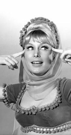 """I Dream of Jeannie"" Barbara Eden Barbara Eden, Sidney Sheldon, I Dream Of Jeannie, Montenegro, Hollywood Actresses, Actors & Actresses, Comedy Tv, Cinema, Norma Jeane"