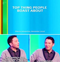 Jon Richardson on bragging. 21 Celebrity Quotes That Perfectly Sum Up Life In Britain British Humor, British Comedy, Jon Richardson, Celebrity Quotes, Celebration Quotes, Laugh Out Loud, Hilarious, Funny Gifs, Funny Stuff