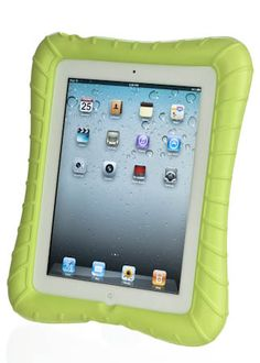 M-Edge SuperShell for The New iPad --- Trying to find a case for new iPads- wonder if this will work for K-6 kids - it won't get lost