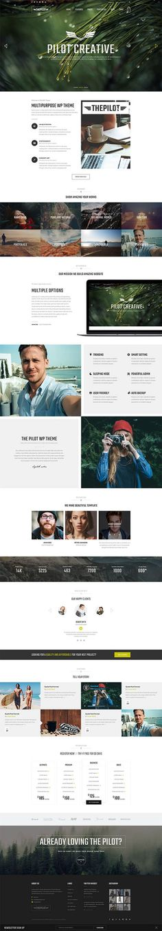 ThePilot - Premium Responsive WooCommerce Theme Best For Fashion Corporate Fitness Blog Magazine
