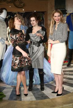 Lily James and Cast at London's Cinderella Launch Photocall March 19th 2015