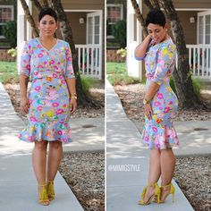 DIY Two Piece + Pattern Info and Modifications #mimigstyle #sewingissexy