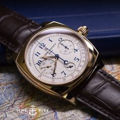 NOW LIVE ONLINE: Our first list from #sihh2015 at the link in our profile Wordsworth was all about emotion recollected in tranquility, we are all about watches recollected in airport lounges with a full tumbler of gin. Enjoy! ️ #vacheronconstantin