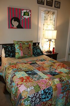 Currently making a quilt similar to this.
