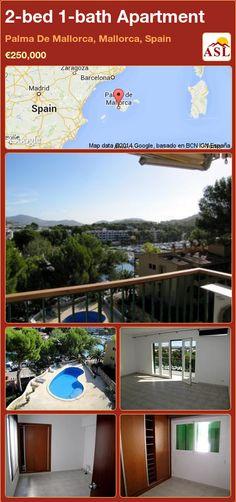 2-bed 1-bath Apartment in Palma De Mallorca, Mallorca, Spain ►€250,000 #PropertyForSaleInSpain