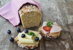 Proteinrikt havrebrød Bread Recipes, Cooking Recipes, Lunch Wraps, Norwegian Food, No Bake Treats, Best Beer, Cheesecake, Food And Drink, Diabetes
