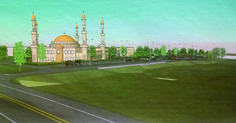 "This is the same New Jersey town forced to pay $7.75 million to Muslims to build mega-mosque. Now they'll have several hundred ""mainstream Sunni Muslims"" coming to their quiet neighborhood regularl..."