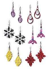 Card Paper Crafts - Nothing But Earrings Kit - #837543 Need to learn to quill!