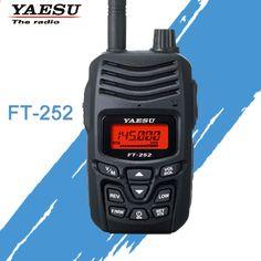 Walkie talkie YAESU para FT-252 VHF 136-174MHz FM Ham Radio transceptor bidireccional yaesu FT-252 radio Qrp, Walkie Talkie, Two Way Radio, Consumer Electronics, Radios, Blog, Hama