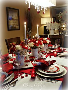 Are you hosting a Valentine dinner party this year? Or maybe you are looking for ideas on how to create a romantic table for two f...