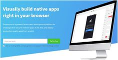 Visually Build Native Apps Right In Your Browser With Dropsource