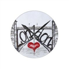 =>quality product          London with love round wall clock           London with love round wall clock We have the best promotion for you and if you are interested in the related item or need more information reviews from the x customer who are own of them before please follow the link to se...Cleck Hot Deals >>> http://www.zazzle.com/london_with_love_round_wall_clock-256475959787574134?rf=238627982471231924&zbar=1&tc=terrest