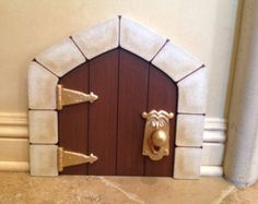 Disney Alice In Wonderland Door With Knob by pixiepainting on Etsy