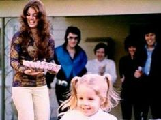 Presley family gathering
