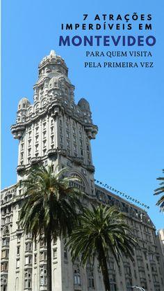 7 Atrações imperdíveis para quem visita Montevideo pela primeira vez! #montevideo #montevideu #uruguai #viagem