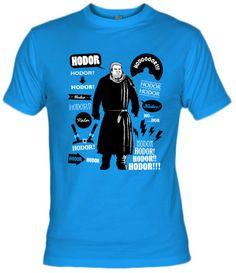 Camiseta Hodor Citas Celebres por Olipop - Juego de Tronos - Camisetas Television - Fanisetas - Las