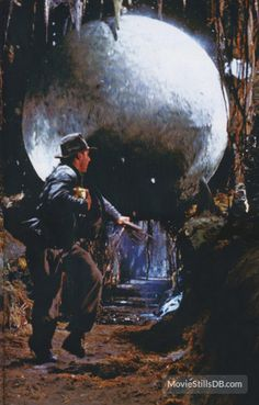 Raiders of the Lost Ark - Publicity still of Harrison Ford