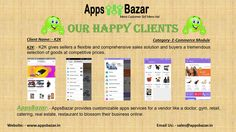 Apps Bazar customized mobile app creator provides business solution for Retail, Restaurant, Catering, Real Estate, Clinic and Hospital, Gym. Enabling the channel partners equipped with latest technology trends so that they connected to more customers, enhance satisfaction and bonding