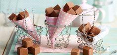 Espresso-Schokoladen-Fudge