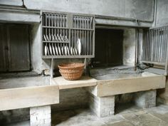 belton house scullery - regency/georgian
