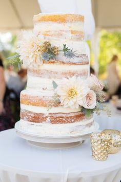Ell Photography, Cake by Sprinkle A Smile #utahvalleybride #utahwedding #utahweddingphotography  #weddingcake #nakedcake