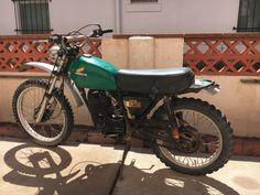 eBay: 1975 Honda MR175 Vintage 1975 Honda Elsinore MR175 MR 175 - Restoration Project Motocross Enduro #motorcycles #biker