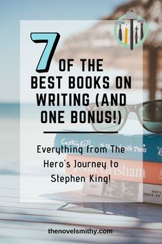 Need a bit of inspiration to up your writing game? Check out these 7 Best Books on Writing to learn more about character development, story structure, and how to motivate yourself to write! Writing Games, Writing Advice, Writing Resources, Writing Skills, Writing A Book, Writing Prompts, Writing Ideas, Outlining A Novel, Plotting A Novel