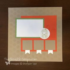 September Pals Blog Hop-- Stampin' Up! Holiday Home project by Becky Gifford www.thesocialstamper.com