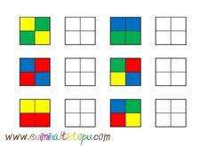 Preschool Learning Activities, Preschool Activities, Kids Learning, Visual Perception Activities, Montessori Materials, Lego Duplo, Kids Education, Barn, Toddler Learning Activities