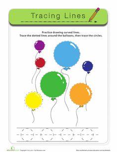 Worksheets: Tracing Circles