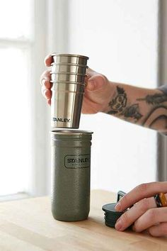 The Adventure Stainless Steel Stanley Shot Set- Pack Of 4 - Urban Outfitters