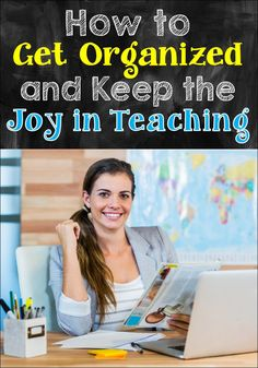 If you love teaching but your life is totally out of balance as a result, you need to read this post! When you learn how to implement effective organizational strategies, you can accomplish more in less time and shave hours off your work week. Not only will you keep the joy in teaching, you'll also experience more joy in ALL areas of your life!