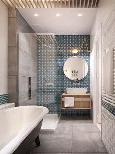 Amazing bathroom idea / Un baño precioso y moderno - Casa Haus Decoracion