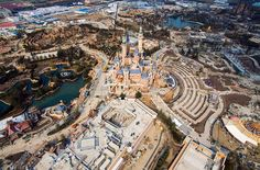 Incredible Aerial Pictures Of The Shanghai Disneyland Theme Park