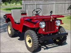 Old willy's jeep