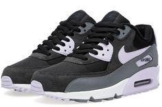 Nike Air Max 90 afgørende sort & violet frost sneaker