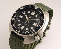 Vintage 1969 Seiko 6105-8000 diver