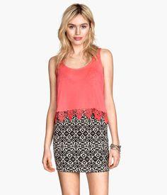 H&M Twill skirt £7.99