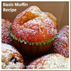 EASY PEASY BASIC MUFFIN RECIPE | GUAI SHU SHU
