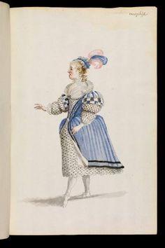 Ballet Royal de la Nuit (1653) - Costumes de scène et décors
