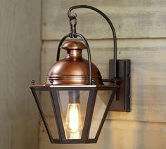 pottery barn outdoor lighting. Case Indoor/Outdoor Sconce Pottery Barn Outdoor Lighting