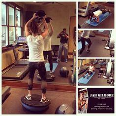 Genevieve Padalecki workout