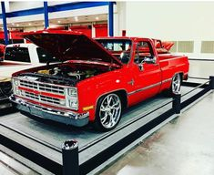 Chevy Pickup Trucks, Classic Chevy Trucks, Chevy Pickups, Chevrolet Trucks, Custom Pickup Trucks, C10 Trucks, Dropped Trucks, Chevy 1500, Square Body