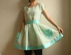 LoriEcoFriendly Hemp/Silk and Silk Organza Dress by Leanimal, $152.00  Love the color, and the pockets!