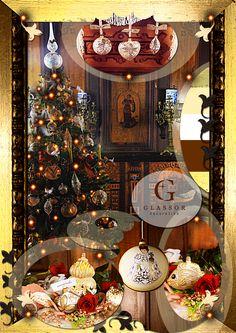 Vánoční ozdoby trendy 2014 | Glassor.cz Christmas Tree, Holiday Decor, Home Decor, Teal Christmas Tree, Decoration Home, Room Decor, Xmas Trees, Christmas Trees, Home Interior Design