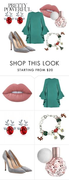 """x-mass power #anikle #style #niklewiczproject #luxury"" by andzelika-niklewicz on Polyvore featuring Lime Crime, Gianvito Rossi, luxury, anikle and niklewiczproject"