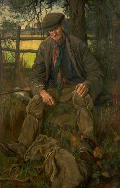 "pintoras: ""Isabel Codrington (British, 1874 - 1943): Old Tramp (via ArtUK) """