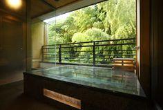 箱根花紋、旅館