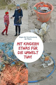What can you do about marine pollution and how can you raise your children's awareness of environmental protection? And why is it so important that there is no more garbage floating in the ocean? Parenting Books, Gentle Parenting, Kids And Parenting, Child And Child, My Children, Ocean Pollution, Environmental Issues, Social Platform, Art Education